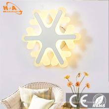 Luz de pared LED decorativa redonda de luz cálida de precio bajo
