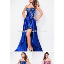 Vestido de noche de las mujeres del vestido de partido del vestido de la gasa de la tela de la gasa atractiva