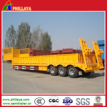 Multi-Purpose Flatbed Cimc Trailers with Rear Ramp