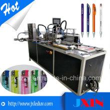 Máquina de impressão de seda cilíndrica rotativa cilíndrica totalmente automática para máquina de fazer mais leve