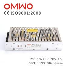 Wxe-120s-15 Alimentation à commutation de lecteurs LED Wxe-120s-15