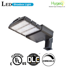 22000lm 200W LED Shoebox luz parques de estacionamento