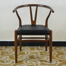 Hans Wegner Restaurant Hotel Metal Y Chair with PU Cushion (SP-LC288)