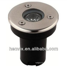 IP65 stainless steel led underground light 1w