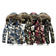 Fashion Latest Design High Quality Camo Down Jacket for Man