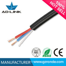 China High Quality 3 Core Flexible Cable RVV Power Cable 300/500V