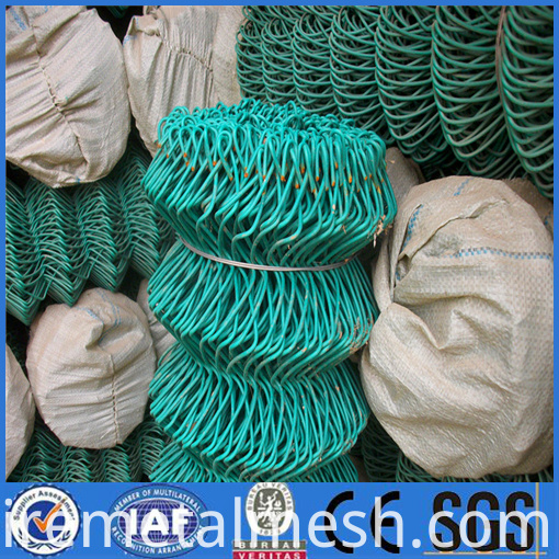 pvc chain link fence packing