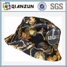 100% Cotton Custom Full Printed Pattern Bucket Cap