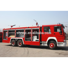 SINOTRUK HOWO fire truck 6X4 used fire truck water capacity