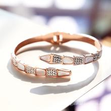 DARA Snake Titanium trending fashion Bracelet for  Women