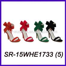 Veloursleder oberen Frauen Schuhe High Heels Sommer Schuhe Frauen Schuhe Frauen Sommer