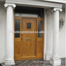 Sold Hardwood Door Designs Malaysia Wood Door Design with Two Side Lite
