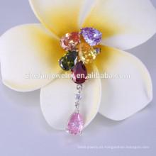 Broche al por mayor de encargo modificada para requisitos particulares / amapola de la flor