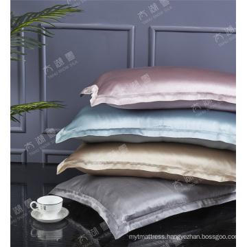 Non-toxic  Pillow Cover with Zipper or Envelope Closure 19/22/25MM Silk Pillowcase Pillow Sham
