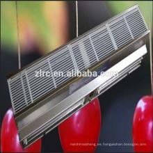 Cortinas de aire del sensor de movimiento