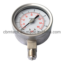 Accept Customized Stainless Steel Pressure Gauge with Top Quality