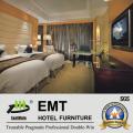Meubles de chambre à coucher modernes en bois massif et design agréable (EMT-K02)