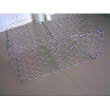 Caixa sextavada de alta qualidade de Gabion / gaiola de pedra