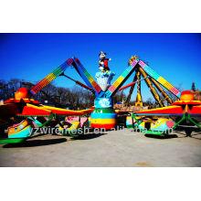 Paseo del parque de atracciones - Spinner de tres estrellas
