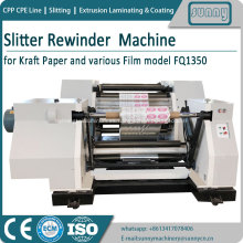MAQUINA REWINDER SLITTER PAPEL FQ1350