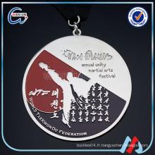 Vente en gros médaille de souvenirs SBKA MARCHANDISES MARTIALES médailles religieuses médailles personnalisées