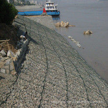 PVC Coated Gabion Box for Protection