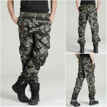 Calças de Camuflagem de Combat Novo Mens com Vestuário Militar Tático