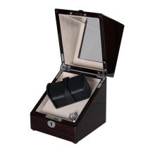 Watch Winder With Battery Case For 2 Watches