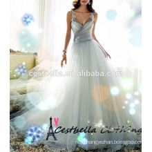 Real Sample champagne Wedding Dress Wedding Gown 2016