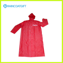 Promotional Logo Printed Wholesale PVC Raincoat