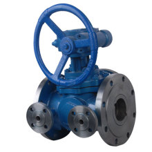 T Type Jacket Flanged Ball Valve