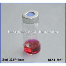 Vial de rizo de 10 ml, vial del inyector automático