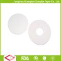Fertigen Sie 8-Zoll silikonisiertes Backen-Papier der runden Form mit Löchern besonders an