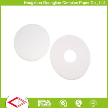 Personnalisez le papier de cuisson rond de forme ronde de 8 po avec trous