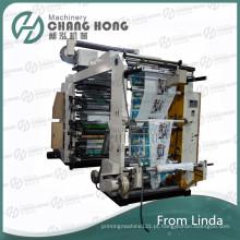 Máquina de impressão flexográfica não tecido de alta velocidade de seis cores (CE)