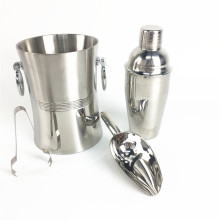 Amazon Top Seller Cheap 300ml Mini Metal Cocktail Shaker Bar Tools Accessories