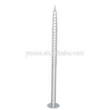 Pilar de tornillo de tierra Q235 resistente a la corrosión OEM para soporte de panel solar