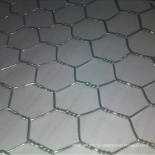 Шестиугольное плетение провода с горячий Окунутый Гальванизированный провод