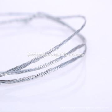 Verzinkter Verdrehungsdraht / Verdrehter verzinkter Draht / verdrillter galvanischer Draht