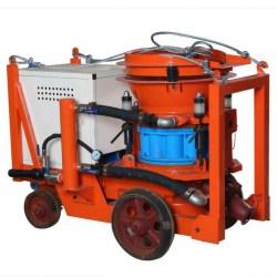wet mix shotcrete spray pump machine