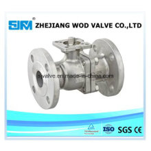 3 PC Flanged Soft Seated Ball Valve (valvula)