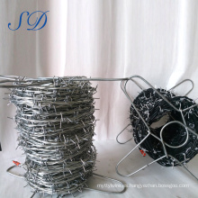 Soportes del alambre de púas del proveedor de China Precio Rollo de Pell