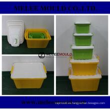 Molde apilable plástico para productos básicos