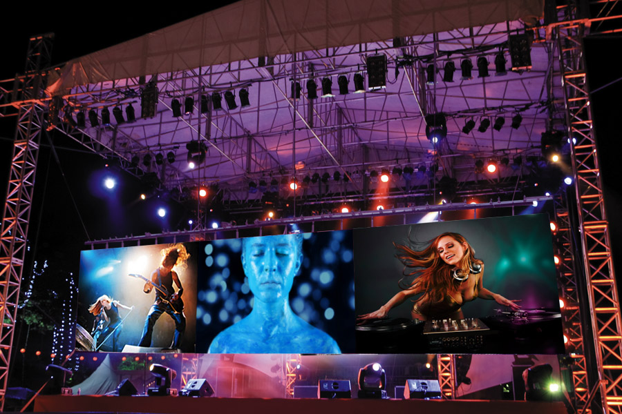 Stage Mega Led Screen