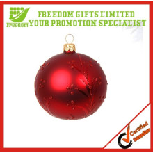 Bola de Navidad plástica ambiental vendedora caliente 2014 de los 6cm