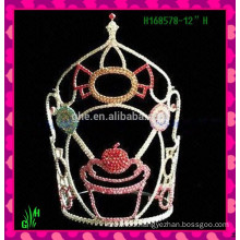 Wholesale Designs Rhinestone Crown New mini rhinestone tiara crown