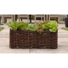 Poly Rattan Outdoor Decor Flower Planter