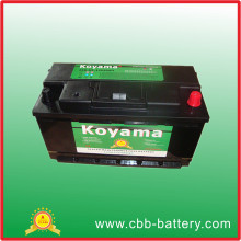 Excellente qualité 12V JIS Standard SMF Automotive Car Battery 90ah