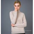Lady's Fashion Cashmere Blend Sweater 17brpv032