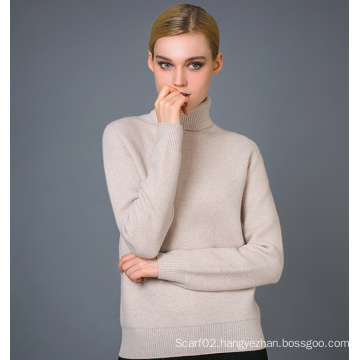 Lady′s Fashion Cashmere Blend Sweater 17brpv032